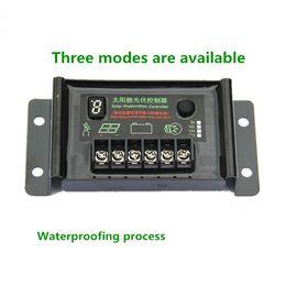 Waterproof led controller online shopping - 12V24V10A solar controller Lead Acid Battery waterproof Solar street lamp Controller