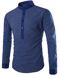 Mens Collared Long Sleeve Pullover Shirt Online | Mens Collared ...