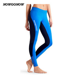 NEW women cycling clothing long pants bike wear trousers black blue Elasticity with gel pad Fitness outdoor sport Mountain Road NOWGONOW on Sale