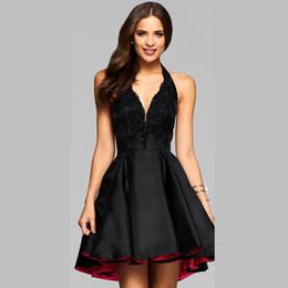 Discount Fancy Cocktail Dresses   2017 Fancy Black Cocktail ...