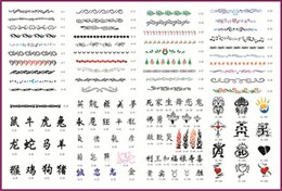airbrushing stencils UK - Wholesale- 116pcs Airbrushing Template Tattoo Stencils Art Design Patterns Set Booklet 11 Free shipping