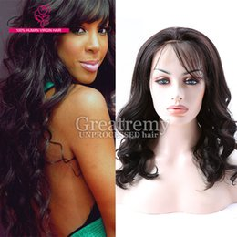 great wigs Canada - 12-24inch Factory Price Thicker Lace Front Wigs Brazilian Hair for Black Women Loose Curly Wave Style Human Hair Lace Wigs Great Remy