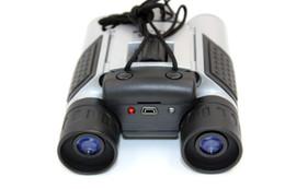 HD мини бинокулярные камеры DT08 Запись HD видео фотографии внешняя память бинокулярная камера TF кард-ридер портативные камеры с длинным фокусным расстоянием