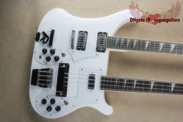 $enCountryForm.capitalKeyWord Canada - New Double neck bass guitar 4 string bass and 12 string guitar white Electric Guitar OEM Available