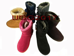 $enCountryForm.capitalKeyWord Canada - top new FREE SHIPPING 2017 SALE New Fashion Australia classic NEW Womens boots Bailey BOW Boots Snow Boots for Women boot