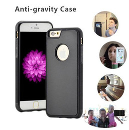 Discount tpu case for nano - Anti Gravity Hybird TPU PC Magical Nano Suction Sticky Antigravity Goat Selfie Back Case for Iphone 6 6s plus 7 7plus Sa