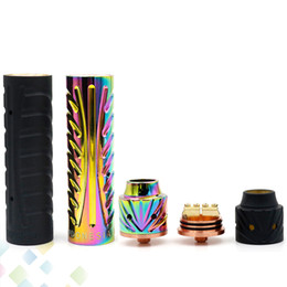 ElEctronic cigarEttE vaporizEr mod online shopping - Vaporizer Sebone Mod Kit MM Electronic Cigarette Copper Brass Black Rainbow colors Best Price DHL Free