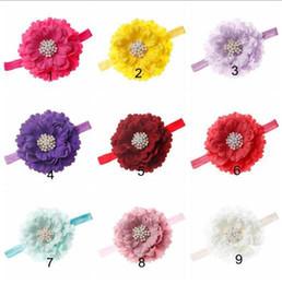 $enCountryForm.capitalKeyWord Australia - Baby Flower HairBand Child Hair Clip Girl Fashion Rhinestone Headdress Hair Band Hair Accessories YH628
