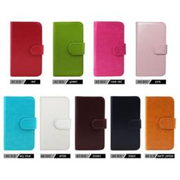 Credit Card folio wallet online shopping - Wallet Leather case For Alcatel Folio Metropcs For LG Q7 PLUS Metropcs Q8 K11 PLUS cover inside credit card slots B