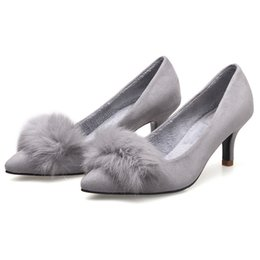 Barato Barato Senhora Vestidos De Inverno-Womens Cheap Heels Online Shop Website Moda Inverno Senhoras Bombas Sapatos Venda Online Sexy Mulher Evening Footwear Amazing Girls Dress Outlet