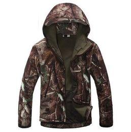 Discount tad jacket color - Tactical MANDRAKE Rattlesnake Combat SharkSkin coat Outerwear Ripstop Assault SoftShell Fleece Waterproof Jacket TAD Kry