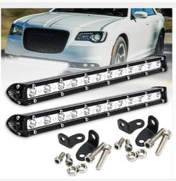 $enCountryForm.capitalKeyWord NZ - White 13Inch 36W 12LED Single Row Work Light Bar Spot Offroad Driving Lamp Boat Car Tractor Truck SUV ATV Waterproof DC 9-32V