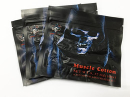 Chinese  Newest Electronic Cigarette Muscle Cotton organic cotton vs Koh Gen Do RDA Wicks japanese cotton fabric puff For RBA RDA kayfun v4 manufacturers
