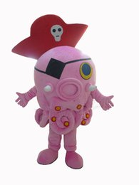 Pirates carnival costumes online shopping - Octopus pirate mascot costume squild cartoon character cosply custom anime carnival costume fancy dress