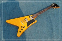 $enCountryForm.capitalKeyWord Canada - New Arrival 1507410 Normal 1958 Flying V Electric Guitar mahogany body gold hardware 1968 wooden top quality