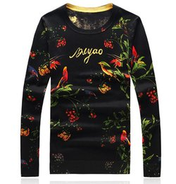 Barato Extra Magro Mais-New Men Pullover Casual Autumn Men's Sweater Slim Fit Brand Moda Pullover O Neck Sweater Plus Size Melhor qualidade Hot Sale