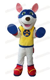 cartoon dog mascot NZ - adult size funny Appolo Dog mascot costume deguisement mascotte cartoon mascot character for Kids Party Theme Park Entertainment Fur mascot