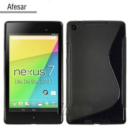 Wholesale Nexus TPU case for New Google Nexus FHD nd Tablet pouch silicon cover funda Not for Nexus st