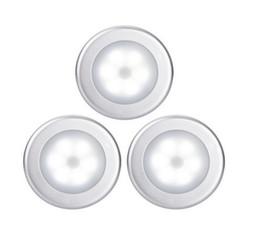 Round body lights online shopping - sensor light Body sensor light sensor Anywhere Nightlight Wall Light for Entrance Hallway Basement Garage Bathroom Cabinet Closet
