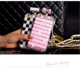$enCountryForm.capitalKeyWord Australia - For iphone 5 5s se 6 6s 7 8 plus X Luxury Diamond Rhinestones Perfume Bottle Mirror chain case