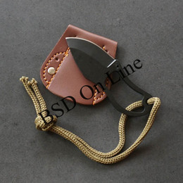 Wholesale neck blade for sale – custom 50pcs Mini Finger Paw Pocket Blade Self Defense Survival Fishing Neck Knife Sheath fast