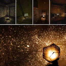 Venta al por mayor de Celestial Star Astro Sky Projection Cosmos Night Lights Proyector Night Starry Romantic Dormitorio Decoración Iluminación Gadget