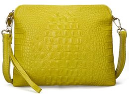 Ostrich Leather Clutch Bag Canada - clutch purse wallet bag women shoulder handbag ostrich tote lady new arrive RU France CA crocodile Togo genuine leather bags Paris US EUR