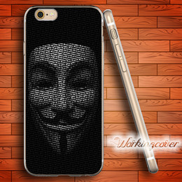 $enCountryForm.capitalKeyWord Canada - Coque Anonymous Mask Soft Clear TPU Case for iPhone 7 6 6S Plus 5S SE 5 5C 4S 4 Case Silicone Cover.