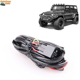 Free Shipping Universal 40A 12V 300W Wiring Harness Kit For Off Road LED Light Bar Working L& Relay Fuse Switch One To One  sc 1 st  DHgate.com : wiring harness nz - yogabreezes.com
