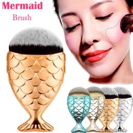 Magic Handle NZ - Factory Direct Hot new Beauty Makeup Brushes Mermaid Handle Wizard Magic Wand Brushes