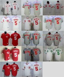 d70006678eb ... jerseys Pinterest Red 2017 MLB Flexbase Cincinnati Reds 5 Johnny Bench  Baseball Jersey White Red Grey 1990 Turn back ...