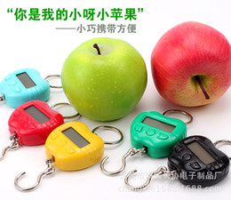 mini plastic green apples Australia - Manufacturers selling small apple portable electronic said 25 kg mini pocket scale Hanging scale luggage said parcel Courier scale