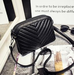 $enCountryForm.capitalKeyWord Canada - New women soft sheepskin V word single shoulder cross body bag female fashion Genuine leather black evening mini bag no63