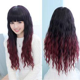 peruvian two tone red hair 2019 - Ombre Brazilian Virgin Hair Weaves Two Tone 1B 99J Burgundy Wine Red Peruvian Malaysian Indian Cambodian Natural Wave Hu