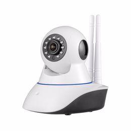 $enCountryForm.capitalKeyWord Canada - Double antenna Camera wireless IP camera WIFI Megapixel 720p HD indoor Wireless Digital Security CCTV IP Camera +64G TF memory card MOQ;1PCS