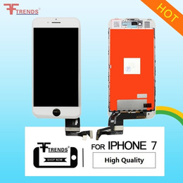 Bar ear rings online shopping - High Quality A for iPhone LCD Display Touch Screen Digitizer Assembly OEM D Touch Cold Frame Camera Sensor Ring Anti Dust Ear Mesh