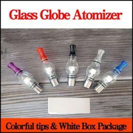 Dry herb bulb e cigarette online shopping - Wax Glass Globe Atomizer E Cigarette dry herb dome glass vaporizer tanks replacement Coils VAPOR GLOBE Bulb Vape Pen Atomizer
