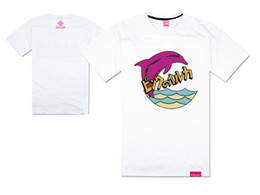 black dolphin shirt Canada - 2018 new arrival pink dolphin hip hop short sleeve t-shirt men and women lover styles plus size o-neck streetwear styles