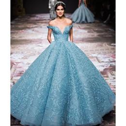 66d4b4e2c311 Discount stunning off shoulder evening dress - Gorgeous Applique  Zuhair-Murad Evening Dress Charming Light