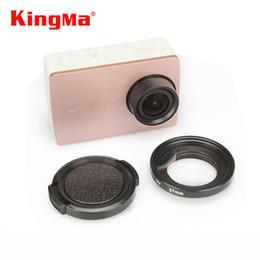 China Wholesale-KingMa Xiaomi Yi II 4K Lens Cover Lens Cap+37mm UV Filter Lens For Xiaomi Yi 2 4K Action Sports Camera YI II 4k Accessories supplier uv camera filters suppliers