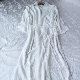 ... Kimono Style Silk Robe - Night Robe - One Size / Blue Flowers - Lullaby  New ...
