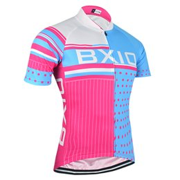 BXIO Brand Cycling Tops Cycle Clothing Women Pink Floyd Fashion Sport Cycling  Jerseys Short Sleeve Summer Cool Bicycle Clothes BX-013-J 3c7aa872d