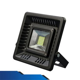 lawn floodlights UK - New Ultrathin LED Outdoor Floodlight 3528 SMD 30W 50W 100W Waterproof Flood Light Garden Light Lawn Lamps Wall Light AC 85-265V CE ROHS