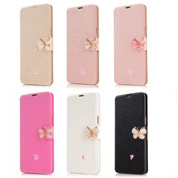 silk stand 2019 - Luxury Butterfly Silk Wallet Leather For Iphone XS MAX XR X 8 7 6 5 5S SE Galaxy Note 9 S9 S8 Card Slot Flip Luxury Pouc