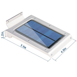 46 LED Solar Power Motion Sensor Outdoor Waterproof Garden Security Lamp  Light Energy Saving Portable Installation LEG_20E