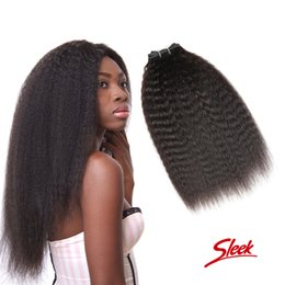Sleek hair extensions wholesale canada best selling sleek hair rebecca brazilian kinky straight human hair bundles 10 22inch unprocessed brazilian human hair weaves hair extensions 3pcs lot sleek brand pmusecretfo Gallery