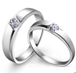 Discount Gold Wedding Couple Rings Gold Plating Wedding Couple
