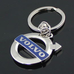 Chinese  New Blue label Volvo vehicle-logo keychain novelty items fashion jewelry gadget trinket promotional keychain christmas gift manufacturers