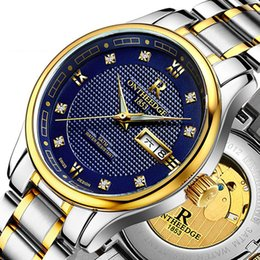 $enCountryForm.capitalKeyWord NZ - wengle 2017 new Fully automatic mechanical luminous Hollow out waterproof Stainless steel watch