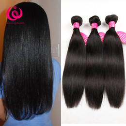 Sheds Prices NZ - Malaysian Straight Hair Weave Bundles 3pcs lot No Shedding No Tangle Wow Queen Hair Cheap Price Unprocessed Malaysian Virgin Human Hair